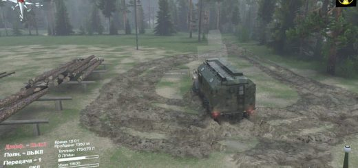 Spintires Mudrunner on Consoles PS4 and XONE - Spintires: MudRunner